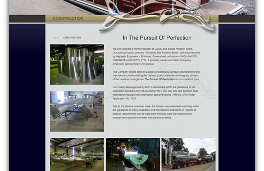 New Website for Runaway Bay Pontoon Boats