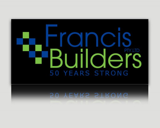 Francis Builders Black Logo
