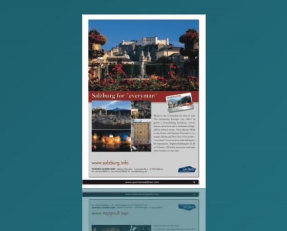 City of Salzburg Full Page Ad