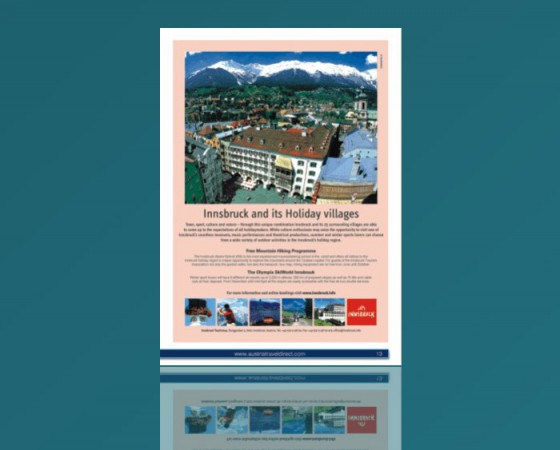 City of Innsbruck Full Page Ad