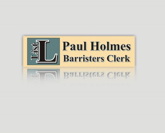 Paul Holmes Barristers Clerk