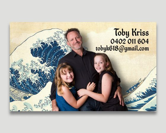 Toby Kriss Business Cards