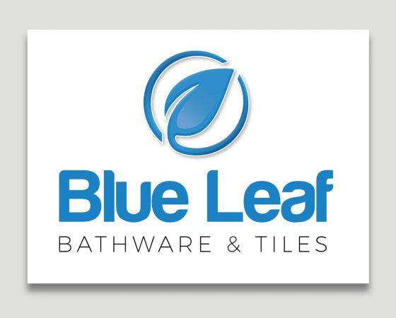 Blue Leaf Bath & Tiles Logo
