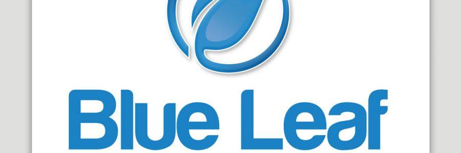 Blue Leaf Bath & Tiles Logo