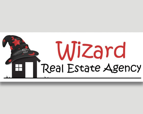 Wizard Real Estate Logo