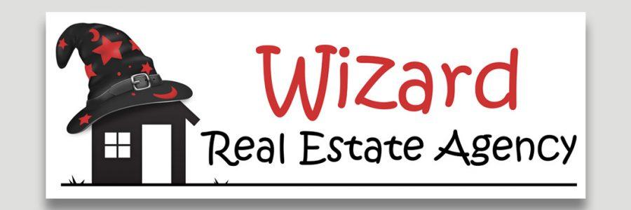 Wizard Real Estate Logo