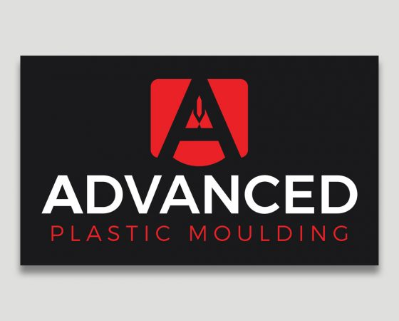 Advanced Plastic Moulding Logo Concept